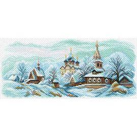 Канва с рисунком Матренин посад 1625 Канва с рисунком 'Зимний Суздаль'