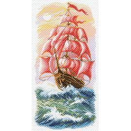 Канва с рисунком Матренин посад 1640 Алые паруса