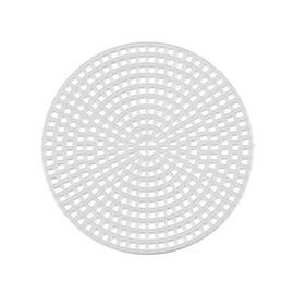 Пластиковая канва фигурная, круг d 7,5 см - 10 шт