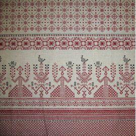 купить ткань льняную с узором