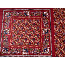 Барановский Платок ткань на красном