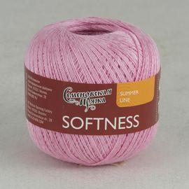 Пряжа Семеновская Softness (Нежность летняя) 47% хлопок, 53% вискоза 10 х 100 г 400 м