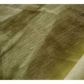 Ткань льняная светло-жёлтый, ширина 269 см