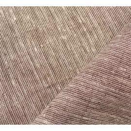 Ткань лен цвет бело-шоколадный, ширина 269 см