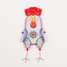 Набор для шитья и вышивания чехол на бутылку Матренин Посад  8320 Счастливый год