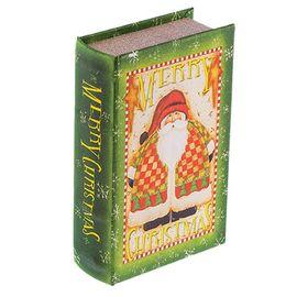"Шкатулка-книга BBK-01 №014 ""Санта Клаус"""