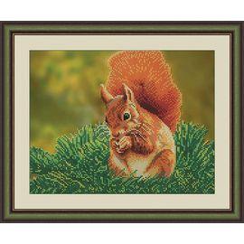 Набор для вышивания бисером Galla Collection A405 Белка