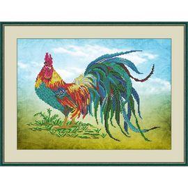 Набор для вышивания бисером Galla Collection А407 Петушок
