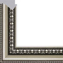 Рама без стекла для картин Charlotta (пластик) серебристая