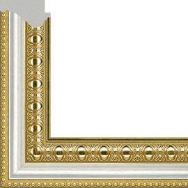 Рама без стекла для картин Charlotta (пластик) золотистая