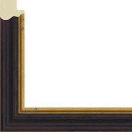 Рама без стекла для картин Arthouse (пластик) черная с золотом