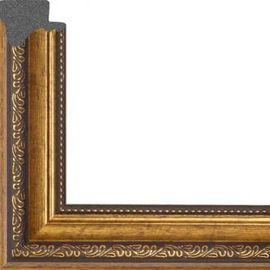 Рама без стекла для картин Dorothy (пластик) золотая багет