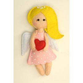 """Набор для изготовления текстильной игрушки из фетра ПФА-351 """"Ангелочки"""" Манечка"""