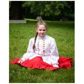 Народный костюм для девочки Казачий
