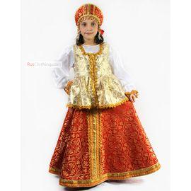Детский народный костюм для девочки Сударыня