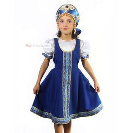 Русское народное платье для девочки Елена