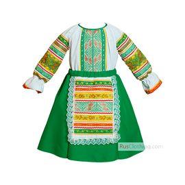 Народное платье для девочки Маришка
