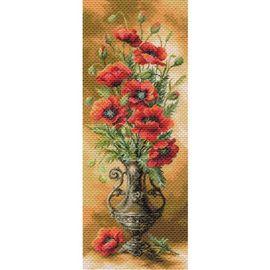 "Канва с рисунком Матренин Посад 1706 ""Пылающие маки"""
