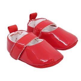 Туфли для куклы лакированные, цвет красный