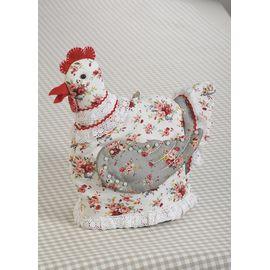 """Набор для изготовления текстильной игрушки грелка на чайник ПГЧ-1103 """"Курица-грелка"""""""