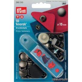 Кнопки, анорак (латунь) Prym 390310
