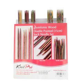 Набор чулочных спиц длиной Symfonie дерево, многоцветный Knit Pro 20651