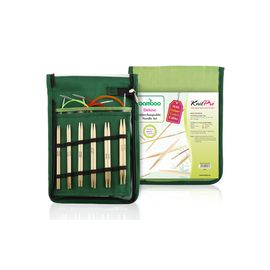 Набор Starter съемных спиц Bamboo японский бамбук Knit Pro 22541