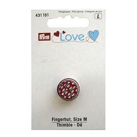 Напёрсток Prym Love, размер M, металл, цветной Prym 431151