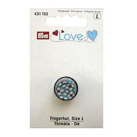 Напёрсток Prym Love, размер L, металл, цветной Prym 431152