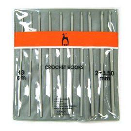 Набор крючков вязальных 10 шт PONY 44220