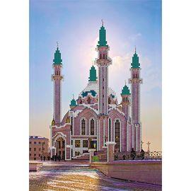 """Канва с рисунком для вышивки бисером OBB-0102 """"Мечеть Кул Шариф"""""""