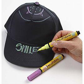 Несмываемый маркер для рисования по ткани MARVY 522