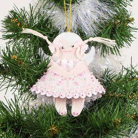Набор для шитья и вышивания сувенир Матренин Посад 8440 Ангел в розовом