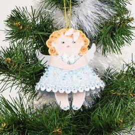 Набор для шитья и вышивания сувенир Матренин Посад 8441 Ангел в голубом