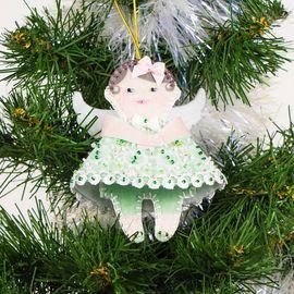 Набор для шитья и вышивания сувенир Матренин Посад 8439 Ангел в зеленом