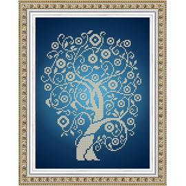 Набор для вышивания бисером Славяночка НК-4025 Дерево Изобилия