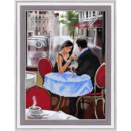 Набор для вышивания бисером Славяночка НК-4040 Первое свидание