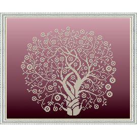 Набор для вышивания бисером Славяночка НК-3065 Дерево Изобилия в золоте