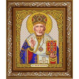 Канва для бисера Славянка ИС-4038 Святой Николай Чудотворец