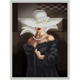 Набор для вышивания бисером Славяночка НК-3067 Прекрасная незнакомка