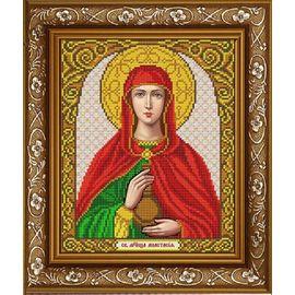 Канва для бисера Славянка ИС-4030 Святая мученица Анастасия Узорешительница
