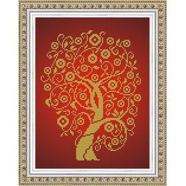 Набор для вышивания бисером Славяночка НК-4026 Дерево Изобилия