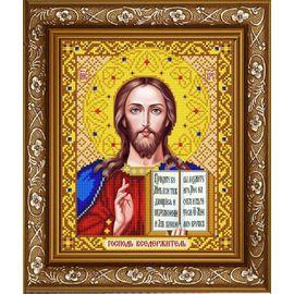 Канва для бисера Славянка ИС-4001 Господь Вседержитель в золоте