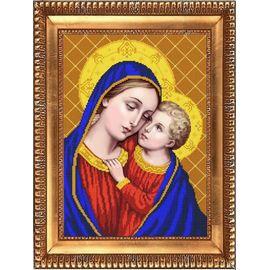 Набор для вышивания бисером Славяночка НК-3069 Дева Мария