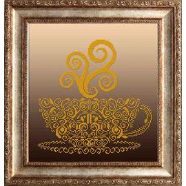 Набор для вышивания бисером Славяночка НКС-3022 Чашечка в золоте