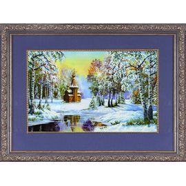 Набор для вышивания бисером Славяночка НК-3008 Зимний пейзаж