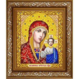 Канва для бисера Славянка ИС-4002 Казанская Божия Матерь в золоте