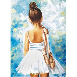 Алмазная мозаика Цветной LE013 Маленькая балерина