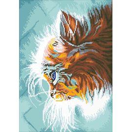Алмазная мозаика Цветной LG010 Котенок в мечтах