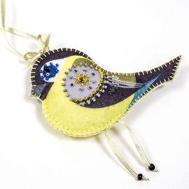 Набор для шитья и вышивания сувенир Матренин Посад 8465 Синичка